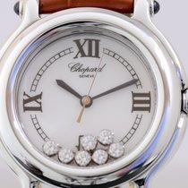 Chopard Happy Sport Flying Diamonds medium Lady Quarz Edelstah...