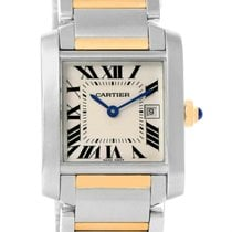 Cartier Tank Francaise Midsize Steel Yellow Gold Watch W51012q4