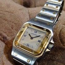 Cartier Quartz pre-owned Santos (submodel)