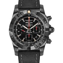 Breitling MB0111C3/BE35-military-rubber-anthracite-black-dep...
