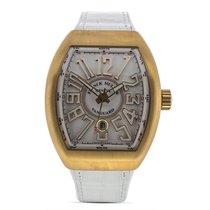 Franck Muller Rose gold Automatic White 51mm new Vanguard
