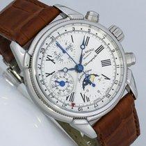 Armand Nicolet Kalender Chronograph Mondphase Valjoux 7751