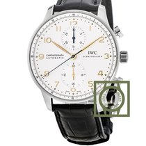 IWC Portuguese Chrono-Automatic Stainless Steel / Gold Numerals