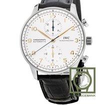 IWC Portuguese Chronograph nieuw 2020 Automatisch Chronograaf Horloge met originele doos en originele papieren IW371445