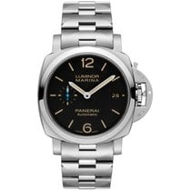 Panerai Luminor Marina 1950 3 Days Automatic Steel 42mm Black Arabic numerals United States of America, New York, New York
