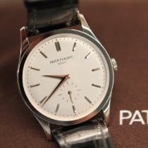 Patek Philippe Calatrava White gold 37mm Silver No numerals United States of America, New Jersey, Summit