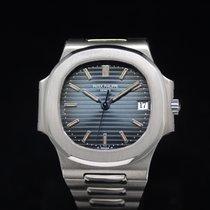 Patek Philippe Nautilus 3800 White Gold Full Set 1997