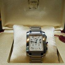 Cartier Tank Française chronograph chronoflex