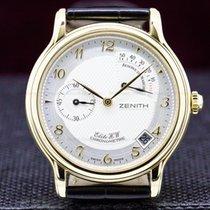Zenith Chronometer 36mm Manual winding pre-owned Elite (Submodel) White