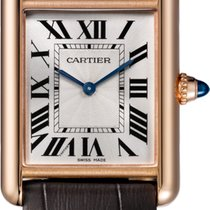 Cartier Tank Louis Cartier Rose gold 33mm Silver Roman numerals United States of America, New York, New York