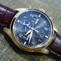 IWC Pilot Spitfire Perpetual Calendar Digital Date-Month Rose gold 46mm Black