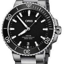 Oris Aquis Date Steel 40mm Black