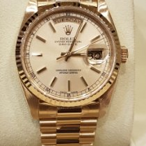 Rolex Day-Date 36 Or jaune 36mm Champagne Sans chiffres France, CANNES