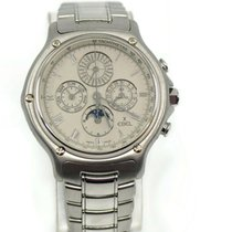 Ebel 1911 occasion 40mm Argent Or blanc