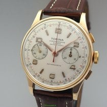 Chronographe Suisse Cie Rose gold 37mm Manual winding pre-owned