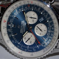 Breitling Navitimer 1 B01 Chronograph 43 Steel 43mm Blue No numerals United States of America, New York, Greenvale