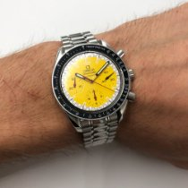 Omega Speedmaster Reduced Steel 39mm Yellow No numerals United States of America, New York, NYC