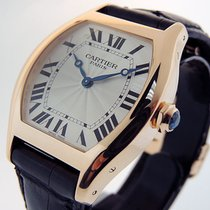 Cartier Tortue Rose gold 43mm Silver Roman numerals United States of America, California, Los Angeles