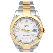 Rolex 116333 Gold/Steel 2016 Datejust II 41mm pre-owned United States of America, California, Los Angeles