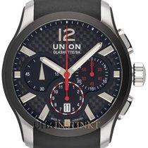 Union Glashütte Belisar Chronograph Steel 43mm Black