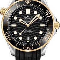 Omega Seamaster Diver 300 M Gold/Steel 42mm Black United States of America, Georgia, Alpharetta