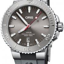 Oris Aquis Date Steel 43.5mm Grey No numerals United States of America, Florida, Miami