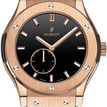Hublot Classic Fusion Ultra-Thin Oro rosa 45mm Negro