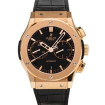 Hublot Classic Fusion Chronograph Rose gold 45mm Black No numerals