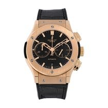 Hublot Classic Fusion Chronograph pre-owned 45mm Black Chronograph Date Leather