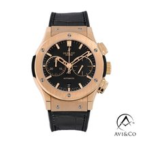 Hublot Classic Fusion Chronograph Rose gold 45mm Black No numerals United States of America, New York, New York