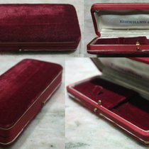Eberhard & Co. rare vintage watch box red velvet for steel...