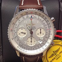 Breitling Navitimer A23322 Silver Dial - Serviced by Breitling