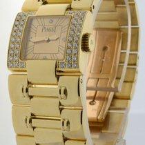 Piaget Dancer 18k Yellow Gold & Diamond Womens Quartz Watch 50011