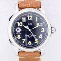Ulysse Nardin San Marco GMT Stahl Klassiker black dial 40mm...