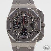 Audemars Piguet Royal Oak Offshore Chronograph Titan 44mm Šedá Bez čísel