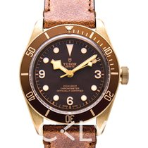 Tudor Heritage Black Bay Bronze Brown Bronze/Leather 43mm -...