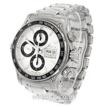 Ebel Chronograph 40mm Automatic 2010 pre-owned 1911 Discovery Silver