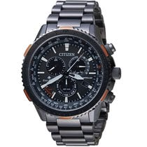 Citizen Steel Chronograph CB5007-51H new
