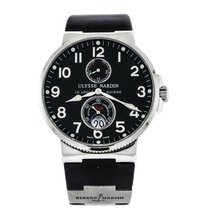 Ulysse Nardin pre-owned Automatic 41mm Black Sapphire Glass 20 ATM