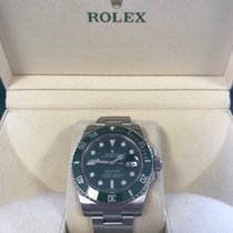 Rolex 116610LV Stål 2015 Submariner Date 40mm begagnad