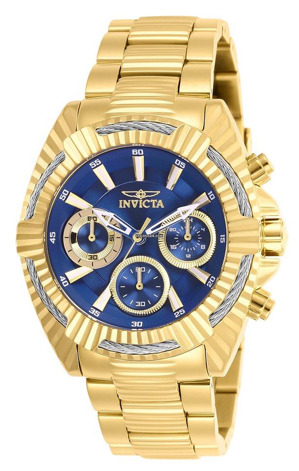 Invicta Women s 27187 Bolt Quartz Chronograph Blue Dial Watch eladó 70 263  Ft Seller státuszú eladótól a Chrono24-en ad0cee32bd