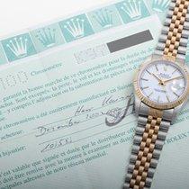 Rolex tweedehands Automatisch 36mm Wit Saffierglas