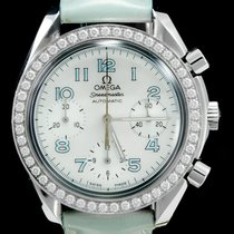 Omega Speedmaster Ladies Chronograph Staal 39mm Parelmoer Arabisch