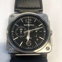 Bell & Ross Chronograph Automatic 2015 new BR 03-94 Chronographe Black