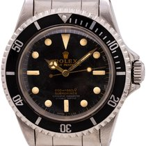Rolex 5512 Steel 1966 Submariner (No Date) 40mm pre-owned