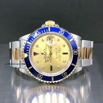 Rolex Submariner Date Oro/Acciaio 40mm Champagne Senza numeri Italia, Novara