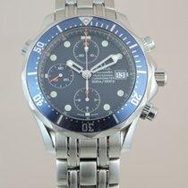 Omega Seamaster Diver 300 M Stahl 41.5mm Blau Keine Ziffern Schweiz, Crans-Montana