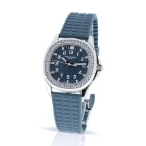 Patek Philippe Aquanaut Steel 35.6mm Blue Arabic numerals United Kingdom, London