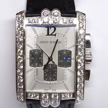 Harry Winston White gold 44.3mm Automatic 330/MCA pre-owned