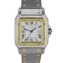 Cartier Santos Galbée Gold/Steel 29mm White Roman numerals United States of America, New York, Smithtown
